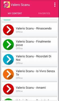 Valerio Scanu - Rinascendo apk screenshot