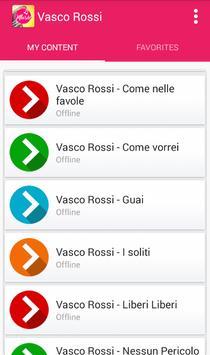Vasco Rossi - Come nelle favole apk screenshot