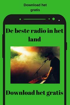 Radio 8 FM NL App Gratis Online Musiek screenshot 1