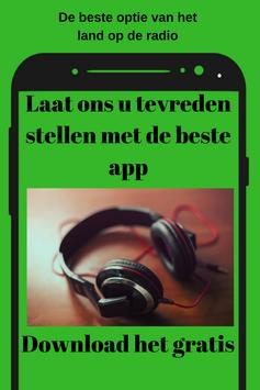Radio 8 FM NL App Gratis Online Musiek screenshot 3