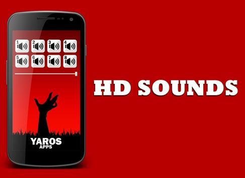 Zombie Sounds apk screenshot