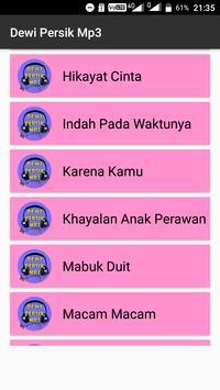 Dewi Persik Mp3 Asyik poster