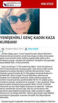 Yenisehirim.com apk screenshot