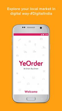 YeOrder - Order Nearby Products and Services poster