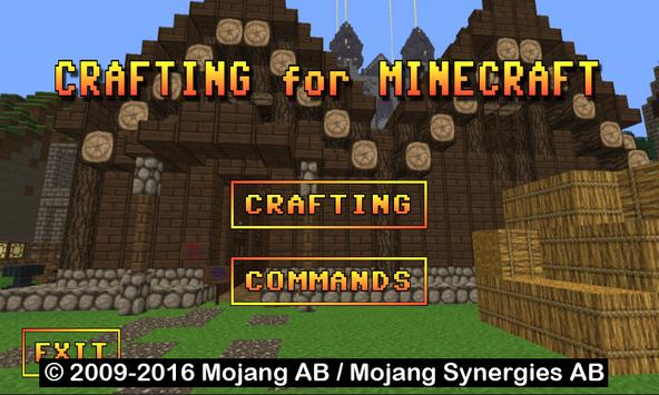 Crafting for Minecraft apk screenshot
