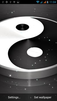 Yin Yang Live Wallpaper apk screenshot