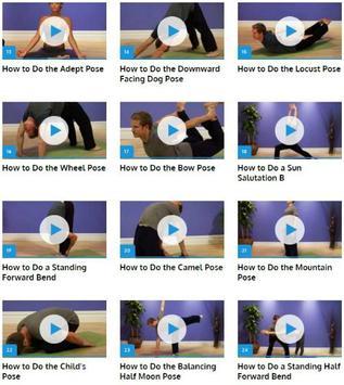 Yoga Poses screenshot 1