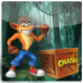 Crash funny run in the jungle icon