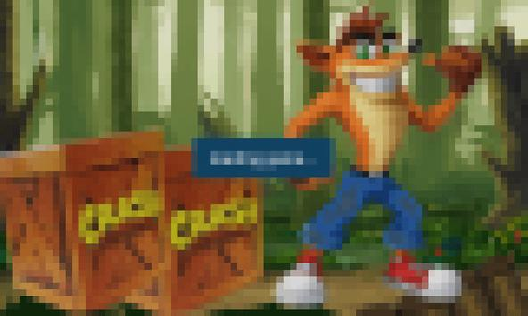 Crash funny run in the jungle apk screenshot