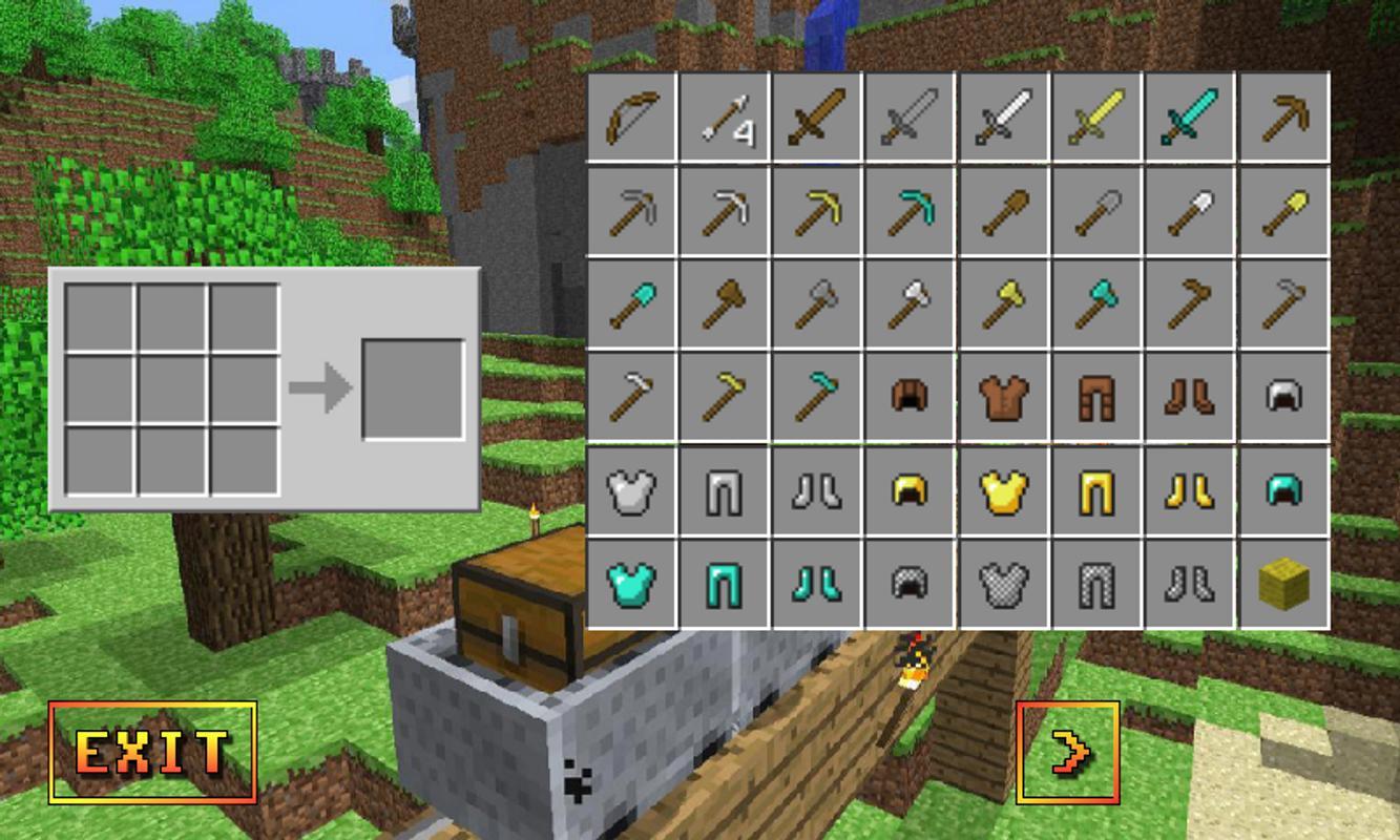 Minecraft Pe Crafting Guide Apk