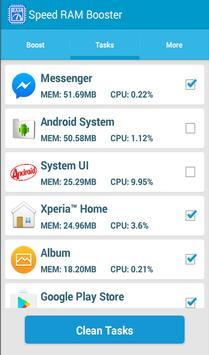 Speed Ram Booster apk screenshot