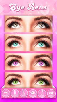 You Cam Makeup Salon Stickers apk screenshot