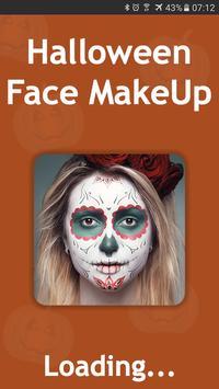 Halloween Face Makeup poster