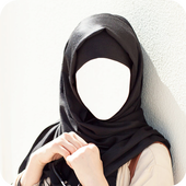 Hijab Woman Montage icon