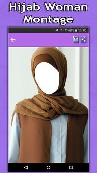 Hijab Woman Montage apk screenshot