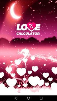 Valentine Love Calculator poster