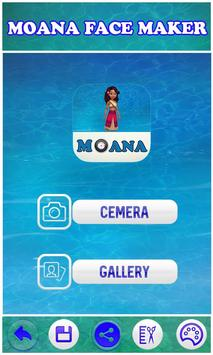 Camera Moana Face Maker screenshot 4