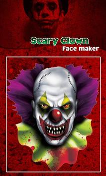 Scary Clown Face Emoji screenshot 3