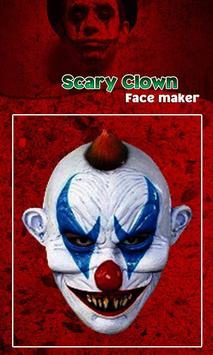 Scary Clown Face Emoji screenshot 13