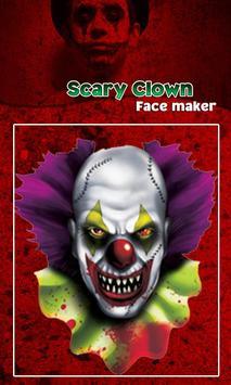 Scary Clown Face Emoji screenshot 19
