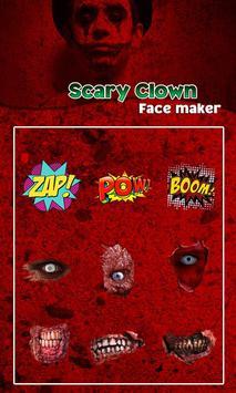Scary Clown Face Emoji screenshot 20