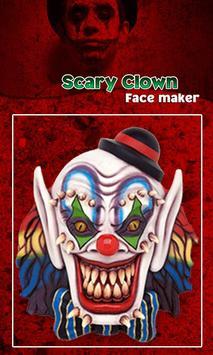 Scary Clown Face Emoji screenshot 23