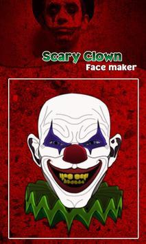 Scary Clown Face Emoji screenshot 2