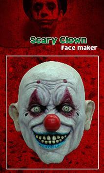 Scary Clown Face Emoji screenshot 6