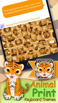 Animal Print Keyboard Themes poster