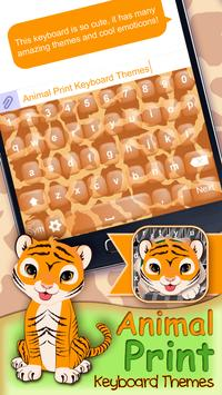 Animal Print Keyboard Themes apk screenshot