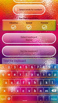 Color Keyboard Custom Themes apk screenshot