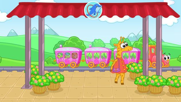 Railway: train for kids apk screenshot