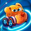 孩子 - 赛车游戏。 图标