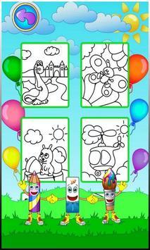 रंग पृष्ठ स्क्रीनशॉट 1