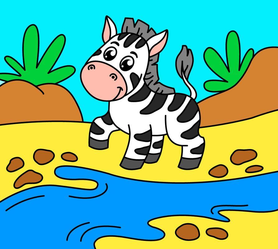 Dibujos Para Colorear Para Niños: Animales For Android