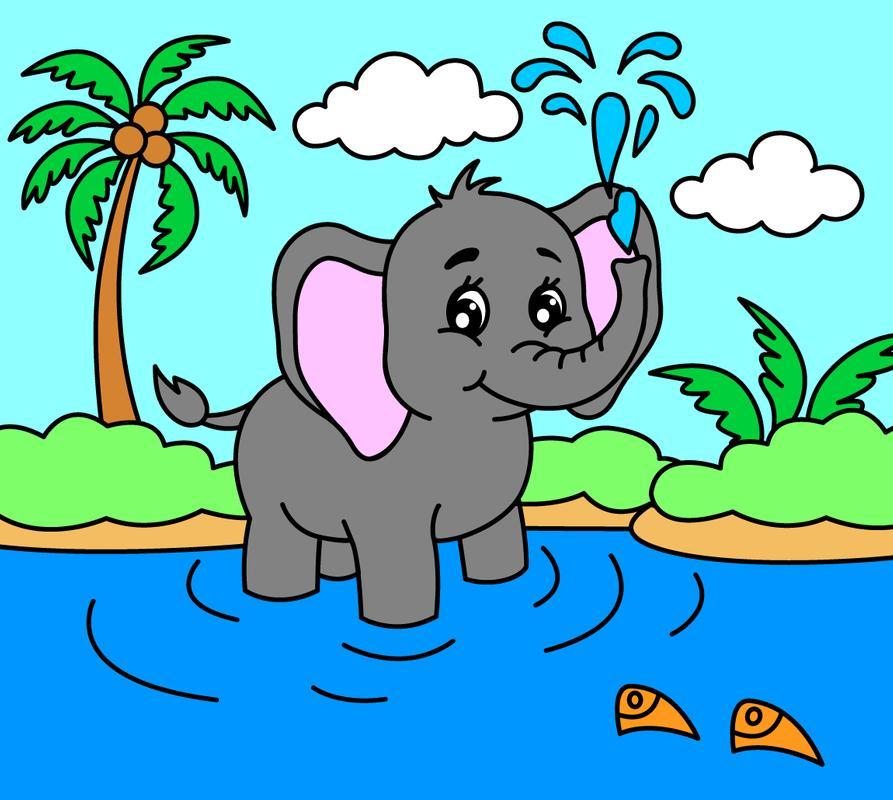 Dibujos Para Colorear Para Niños: Animales Descarga APK