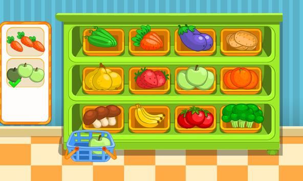 Children's supermarket apk screenshot
