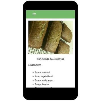 Zucchini Recipes screenshot 3