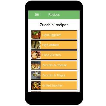 Zucchini Recipes screenshot 1