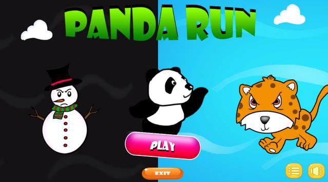 Panda Run Adventure apk screenshot
