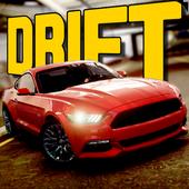 Muscle Car Drift Simulator 3D icon