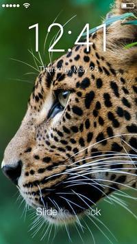 Jaguar Cat Screen Lock poster
