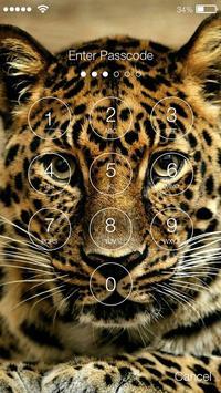 Jaguar Cat Screen Lock screenshot 1
