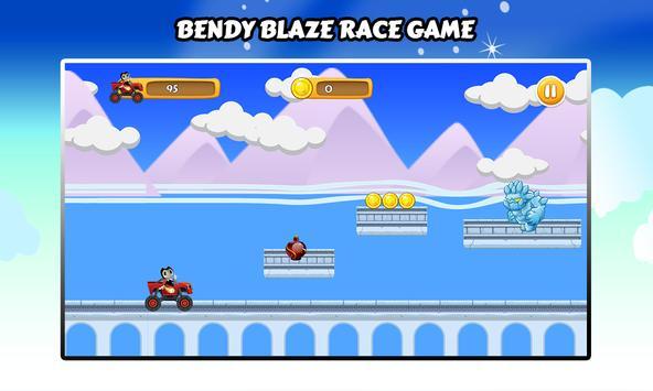 Bendy and Blaze Ink Machine Race screenshot 4