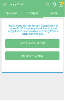 Zapp Cash apk screenshot