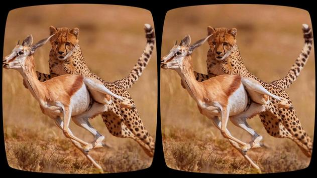 VR Safari Tour: Adventure Sites (Google Cardboard) apk screenshot