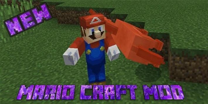 Mario Craft Add-on for MCPE apk screenshot