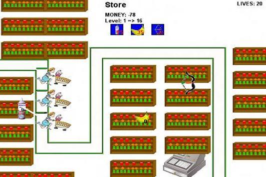 Grocery Store Lockdown LITE screenshot 1