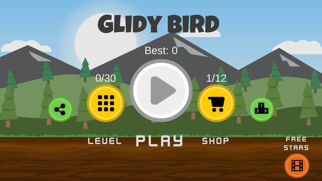 Glidy Bird screenshot 4