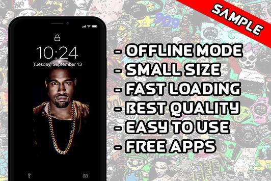 Kanye West Wallpaper HD screenshot 3
